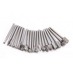Mini (dremel) milling cutter/burs (20 pcs)
