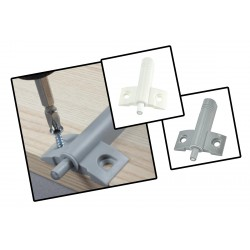 10 Stück Aufbau-Türdämpfer, Türstopper grau