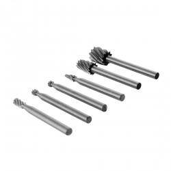 Mini (dremel) milling cutter/burs (6 pcs)