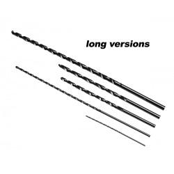 HSS Bohrer 1.0 mm, extra lang: 60 mm