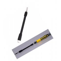Flexible 12,5 cm Verlängerung hex 4 mm