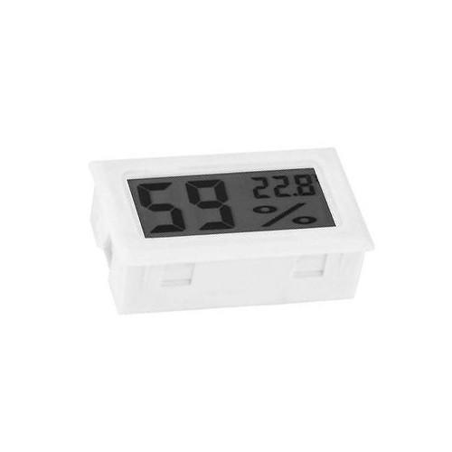 Meter voor temp. en luchtvochtigheid wit