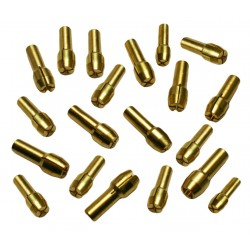 Collet chucks (20 pcs) for multitools (4.3 mm)