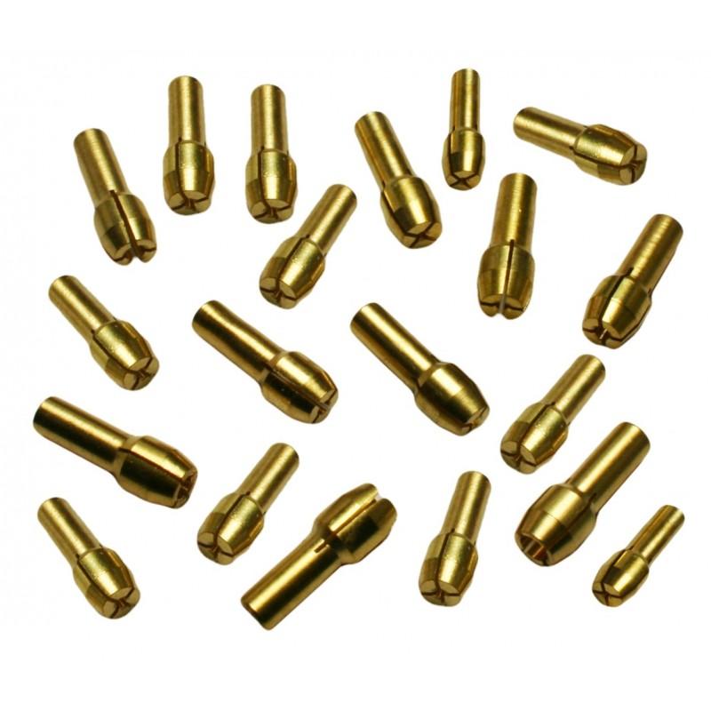 Set spantangen (10 stuks) voor o.a. dremel (4.3 mm)