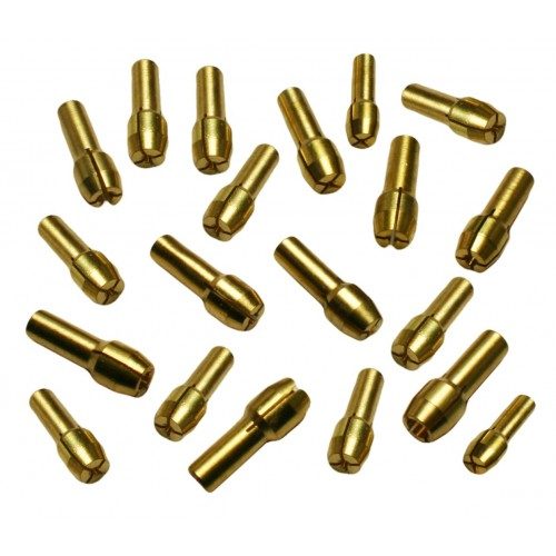 Collet chucks (10 pcs) for dremel like tools (4.8 mm)