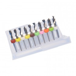 Micro (dremel) boortjes set 4 (4.1- 5.0 mm)