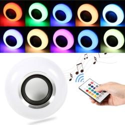 Led muzieklamp draadloos E27 12W
