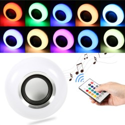 Wireless music bulb 12W E27