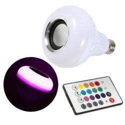 Musikleuchte LED kabellos E27 12W
