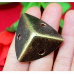 Mini bronze corner protection, 25x25x25mm