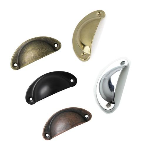 Goudkleurige ijzeren handgreep voor meubels, klein