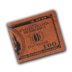 Dollarschein-Geldbörse für Männer