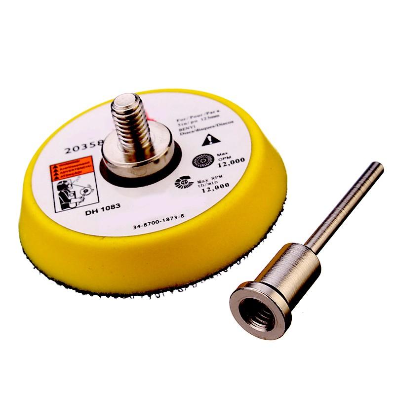Schleif- und Polierscheibe (50 mm) mit 3mm Adapter