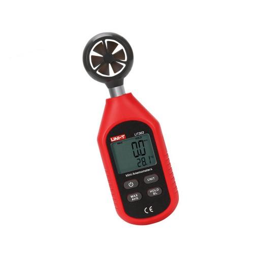 Windmeter (anemometer) op batterij