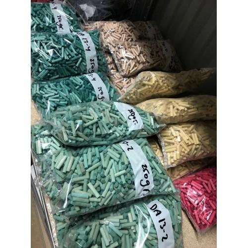 5 x 21mm colored dowels, color DA15-4, 250 grams