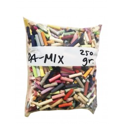 Random colored dowels, DA-MIX, 250 grams