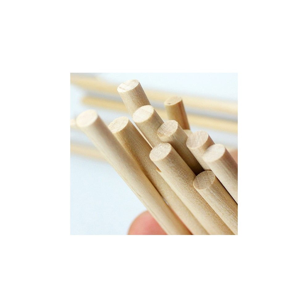 5mm x 110mm houten stokje berkenhout wood and tools - X houten ...