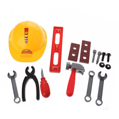 Kids tool set with helmet (3+ years)