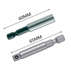 Bithouder en dophouder 6.35mm (1/4 inch)