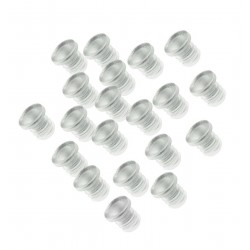 300xMini-Gummi-Türdämpfer, Türstopper 5mm (Typ 1)