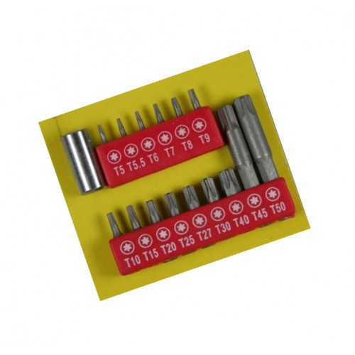 Torx bitset (16 pieces)