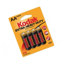 Kodak AA penlite batterij 1.5v extra heavy duty