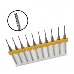 Mikro Frässet in box (2,0 mm, 10 Stück)