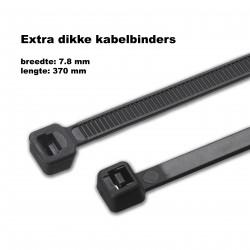 Dicke Kabelbinder (Kabelbinder) 7,8x370mm ZWART