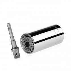 Gator grip MEDIUM, universal socket wrench 9-27mm