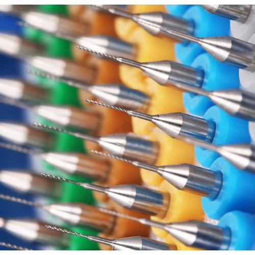 Micro drills set 6 (0.3 mm, 10 pcs)
