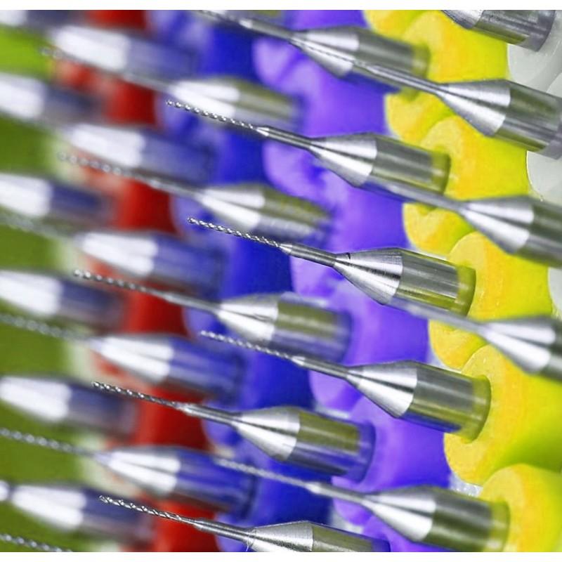 Micro drills set 8 (0.5 mm, 10 pcs)