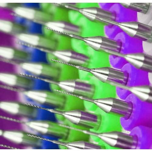 Micro drills set 12 (0.9 mm, 10 pcs)
