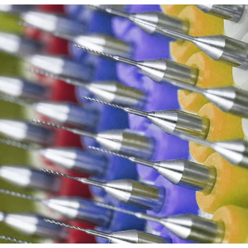 Micro boortjes set 13 (1.0 mm, 10 stuks)