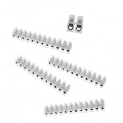 Connector blocks, 48 pieces, 4 strips