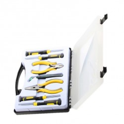 Electronics toolset in case (7 pieces)