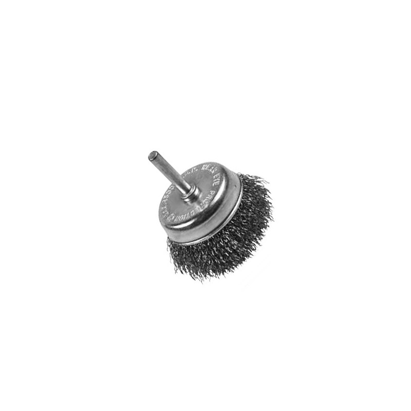 Steel brush for drilling machines, 75mm