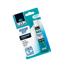 Bison kit contact glue transparent (18g)