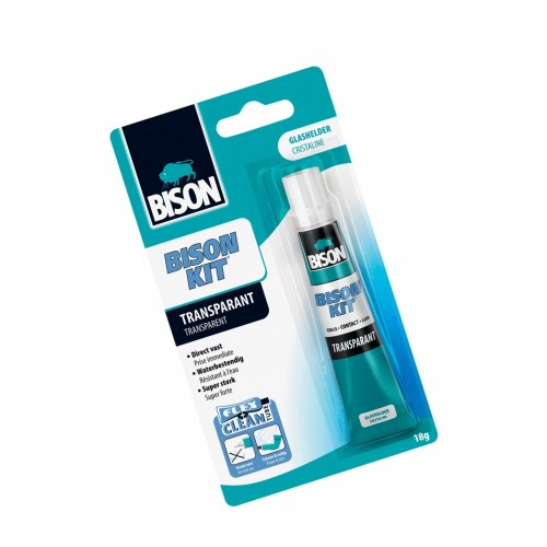 Bison kit contact glue transparent (18g)