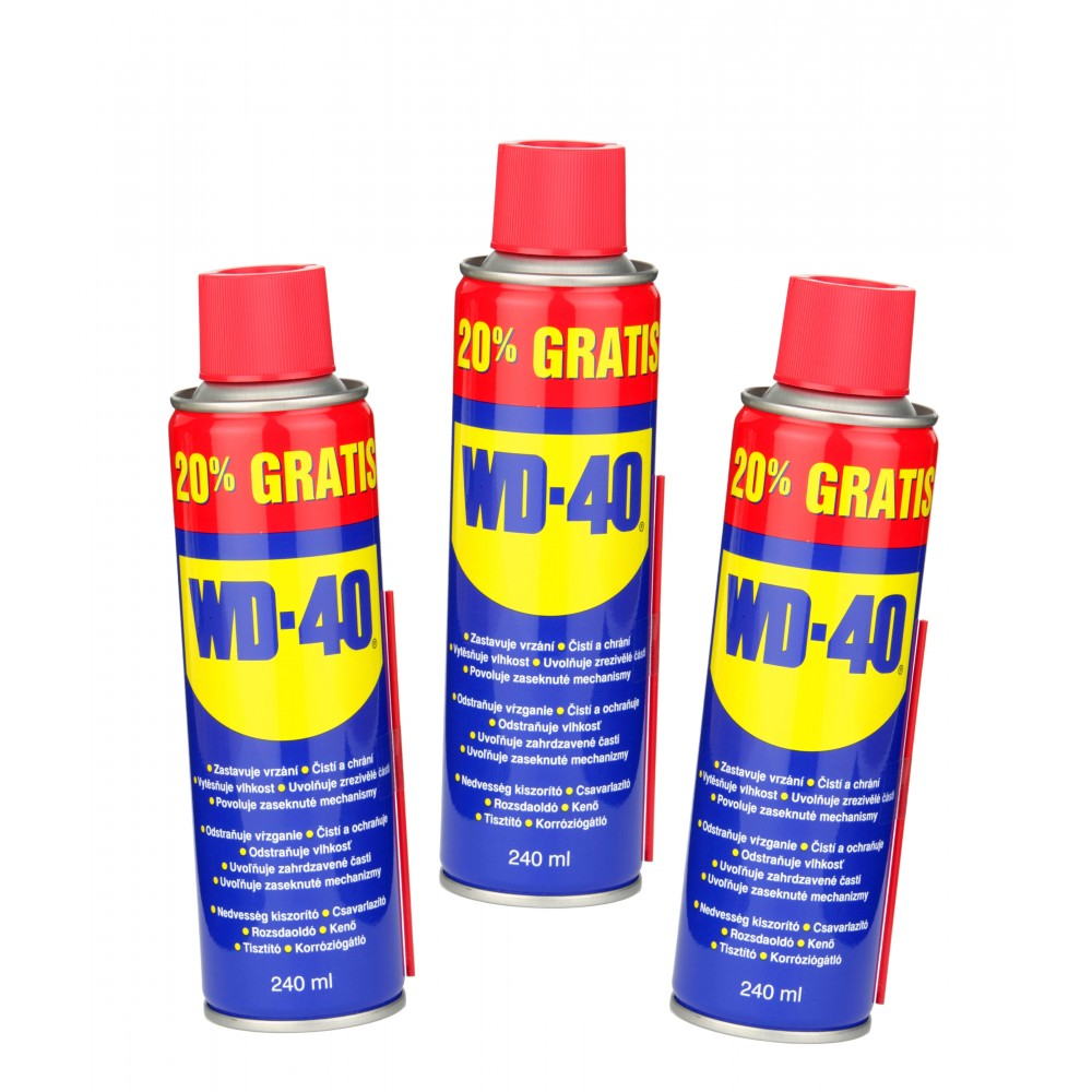 wd 40 240ml silikonfreies l in einer aerosoldose wd40 wood and tools. Black Bedroom Furniture Sets. Home Design Ideas