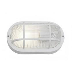 Bullseye lamp, wit E27 (waterdicht, ook voor buiten)