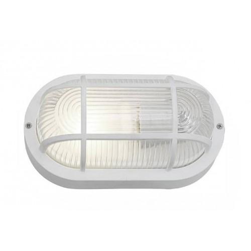 Bullseye lamp, wit E27 (ook voor buiten)
