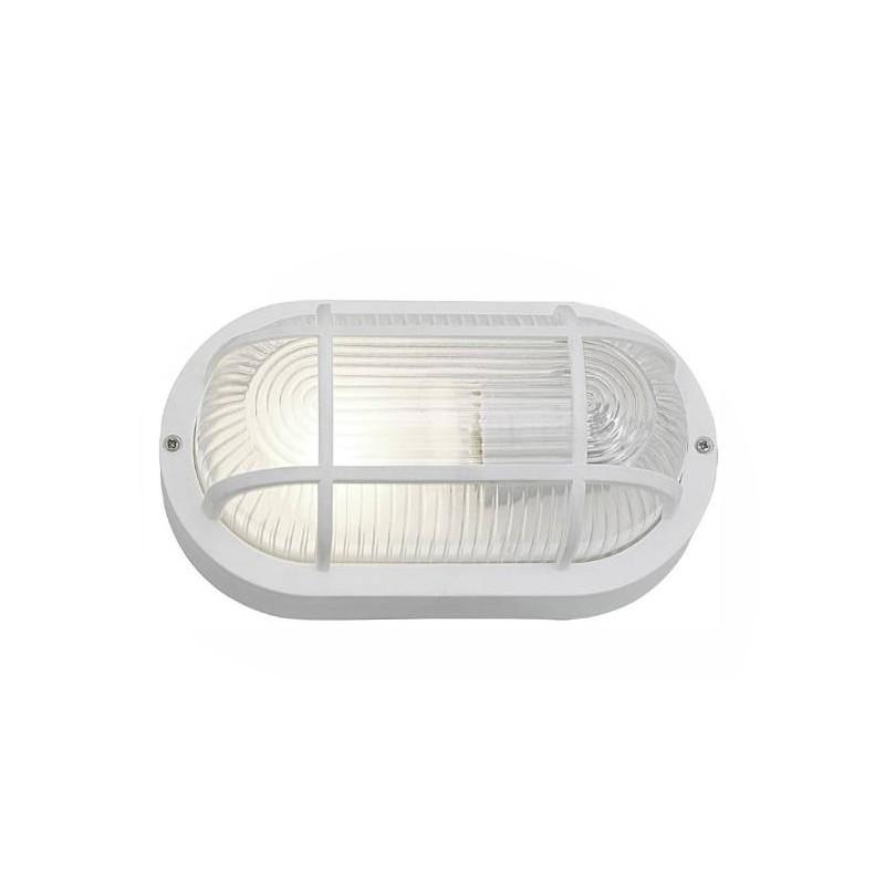 Bullseye Lampe, weiß E27 (auch für den Außenbereich)