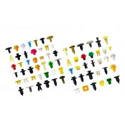 Universal car clips set (200 pieces)