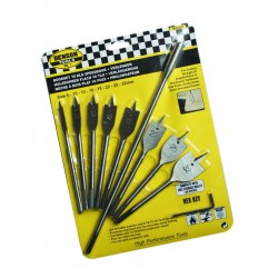 Flatbit wood drills (10 pieces)