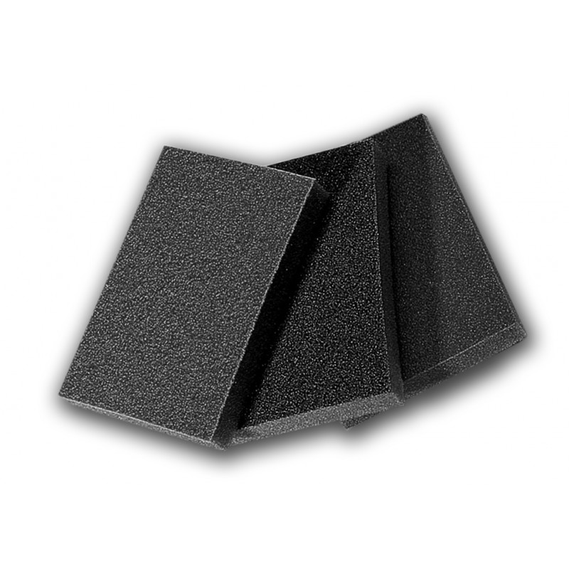 Abrasive sponge for wood and metal