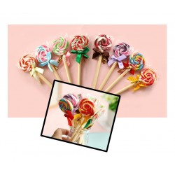 5 pieces lollipop ballpoint pens