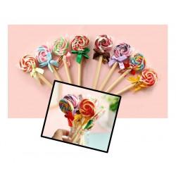 5 pieces lollipop ballpoint pens