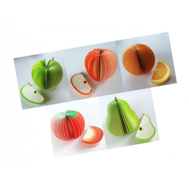 Memoblok, notitieblok groene appel