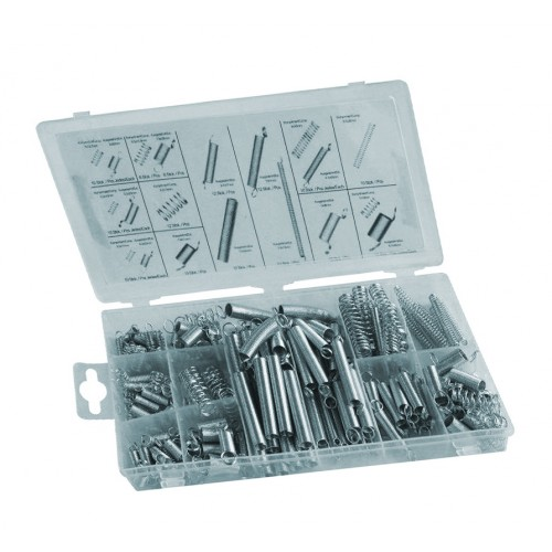 200 pieces tension and compression springs