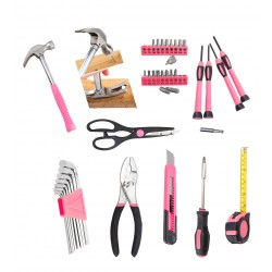 Ladies toolset in case (39 pieces)